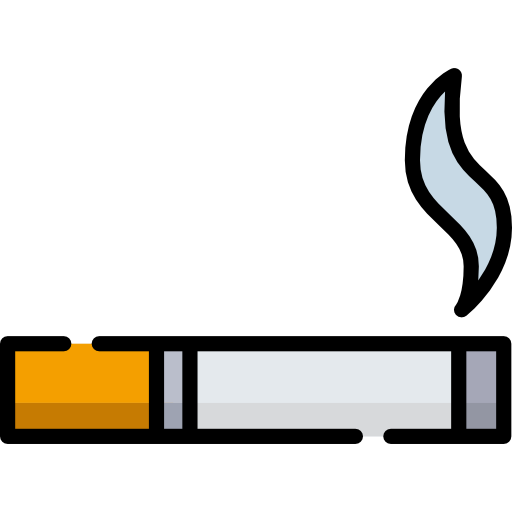 Smoking cigarettes or other tobacco products
